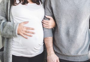 Pregnancy in a relationship
